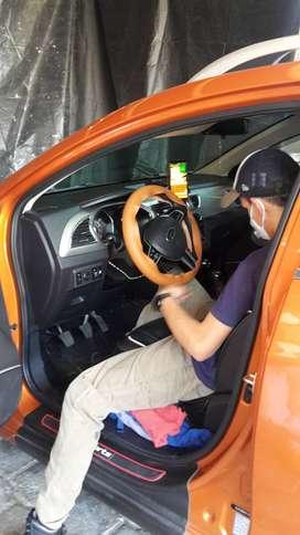 Forro para COSER en Volante de auto