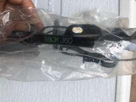 Cable de datos + cable av y deadema  xbox 360