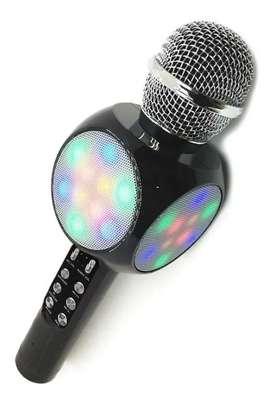 Micrófono Karaoke Ws-1816 Para Niñas Y Niños
