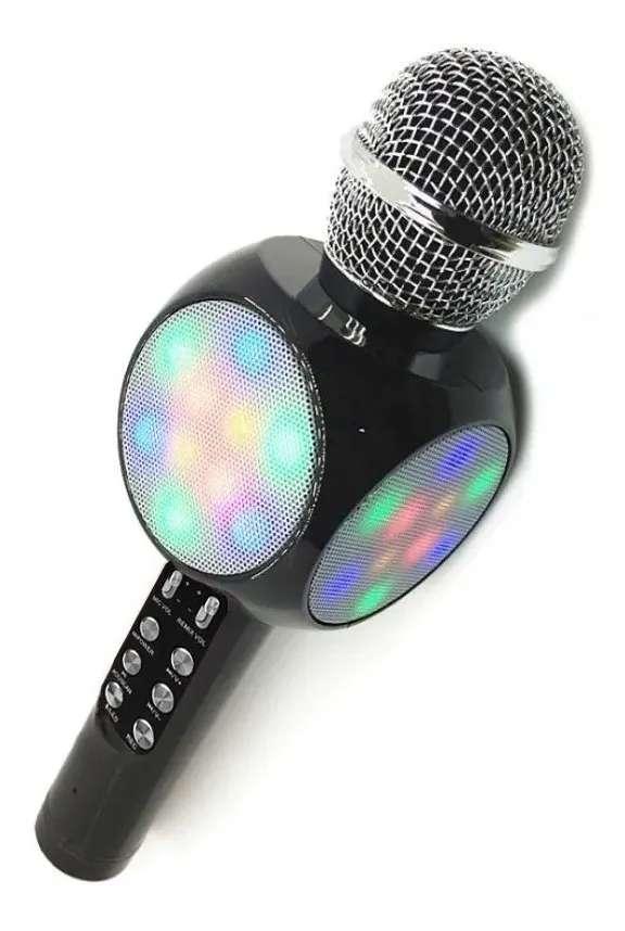 Micrófono Karaoke Ws-1816 Para Niñas Y Niños 0