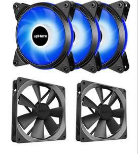 Pack 5 ventiladores para computadora