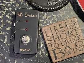 Pedal Joyo ab switch