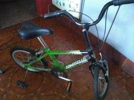 Bicicleta Tomaselli Rodado14. sin Uso