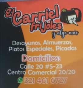 Cocinera con experiencia en comida criolla