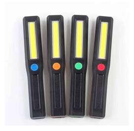 linterna portátil emergencia LED intermitente