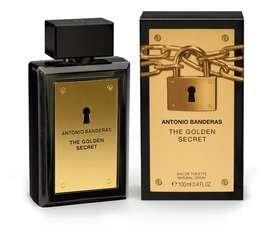 Perfume The Golden Secret de Antonio Banderas Caballero 100ml ORIGINAL