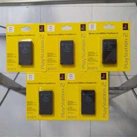 MEMORY CARD 8 MB NUEVO PS2 PLAY 2 PLAYSTATION 2 PROMOCIÓN GARANTIZADOS