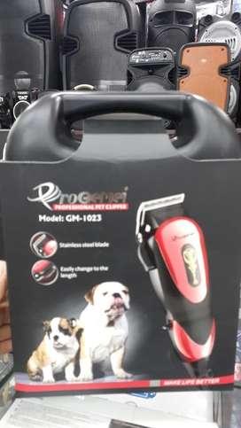 Maquina profesional para mascotas incluye peines,tijeras, cepillos suave y de alambre