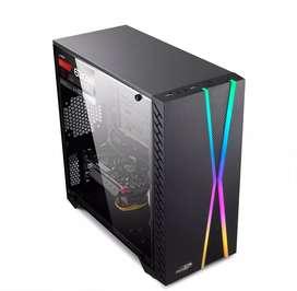 Equipo Gamer RX 5500XT 8GB DDR6 Ryzen 5 3600 Fuente 650 80 PLUS SSD