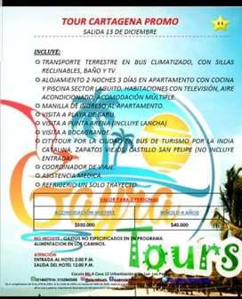 Promocion viaje a Cartagena