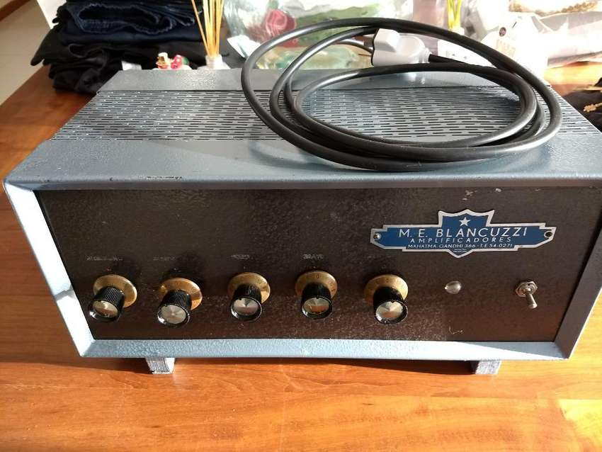 Amplificador Valvular Biancuzzi 30 Watts 0