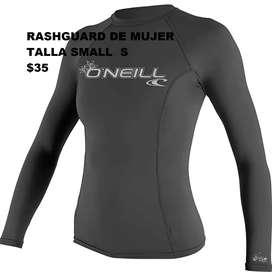 Rashguard Buso de Baño de Mujer O'Neill Talla Small  S