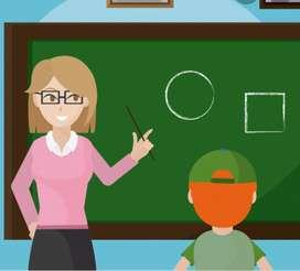 Clases particulares para nivelar a niños de basica en su aprendizaje y ayudarlo  y con sus tareas diarias
