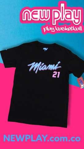 Camiseta NBA 20' miami heat