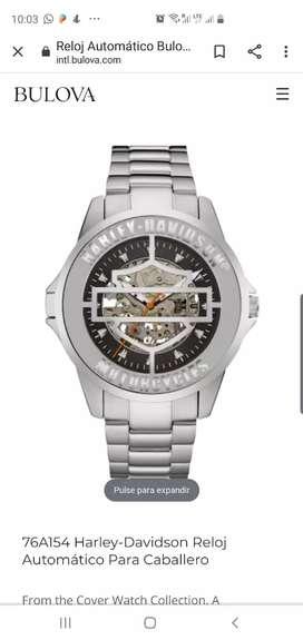 Reloj BULOVA Harley Davidson automático