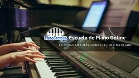 Curso de Piano Online | Armonía + Improvisación + Composición + Lectura Musical + Técnica + Acompañamientos con acordes