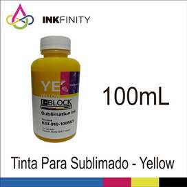 Tinta para Sublimación Color Yellow