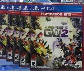 Plants Vs Zombies Garden Warfare 2 Ps4 Nuevo Sellado Stock