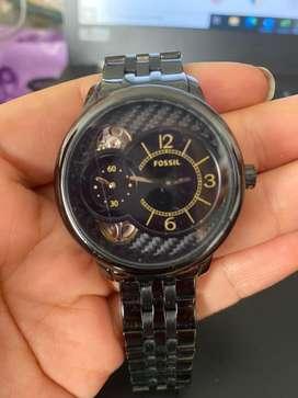 Reloj Fossil Original Negro