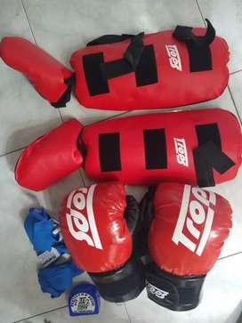 Protectores kick boxing