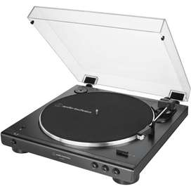 Audio-technica AT-LP60XBT-BK Tornamesa Bluetooth Negro