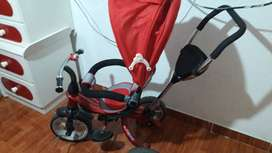 Triciclo giratorio el asiento 360