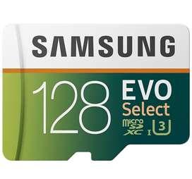 Tarjeta SD con adaptador Samsung EVO Select SDHC 128Gb