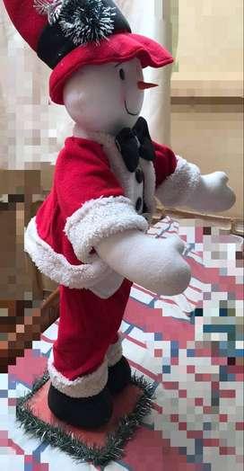 Muñeco de nieve , navideño