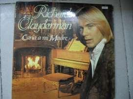 DISCO VINILO RICHARD CLAYDERMAN CARTA A MI MADRE