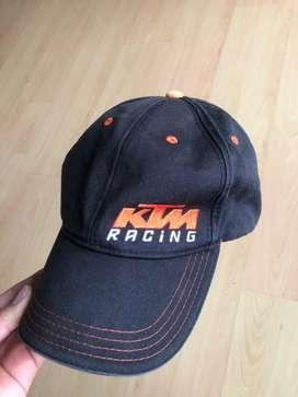 Gorra negra KTM