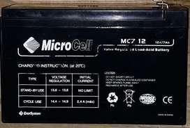 Bateria gel 12Volts 7 Ampers