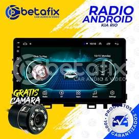 RADIO ANDROID PARA KIA RIO 2017/20 GPS BT USB WIFI BETAFIX DESDE