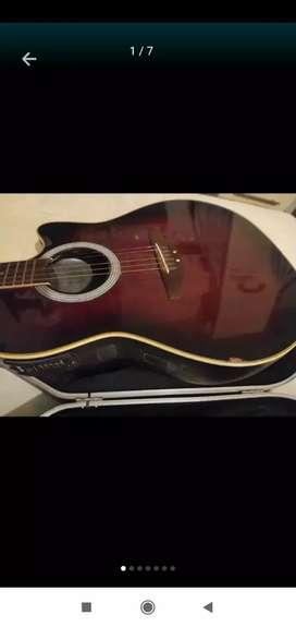 Vendo Guitarra Electroacústica Ovation Aplausse. Ecualizador, afinador.