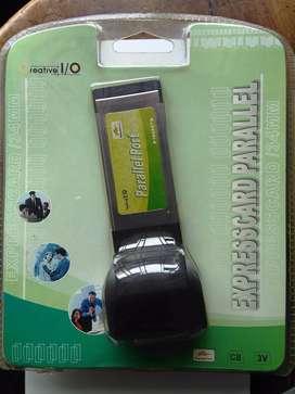 ASC NUEVO Tarjeta ExpressCard Paralelo para portátil