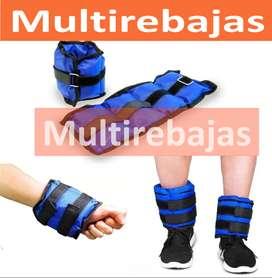 Kit De Pesas kg Terapia Para Tobillo O Muñeca Fitness