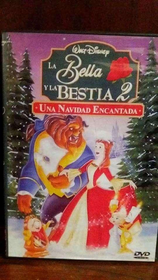 DVD LA BELLA Y LA BESTIA UNA NAVIDAD ENCANTADA 50 0
