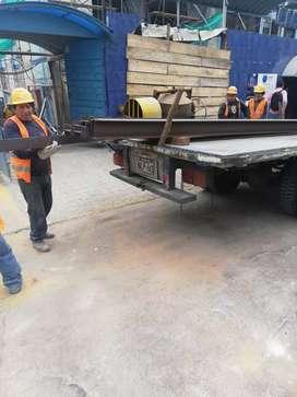 Alquiler de plataforma mediana 6 tons