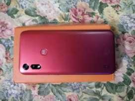 Vendo Motorola E6 S.