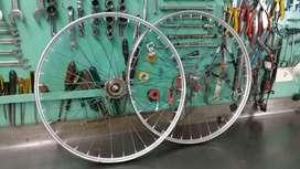 Juego rueda inglesa 26 1.1/2.2 .