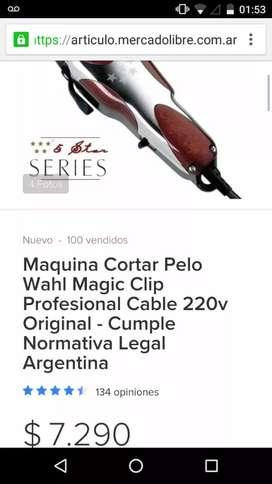 Máquina whal mágic clip