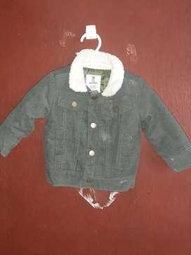 Disfraz ratón y chaqueta bebé