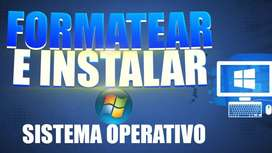 instalo windows y programas basicos