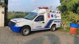 Ambulancia Chevrolet Dmax
