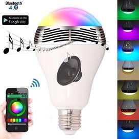 Lampara Rgb Con Parlante Bluetooth Smart
