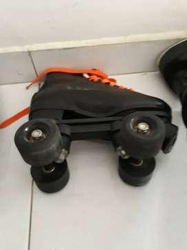 Vendo patines de 4 ruedas ideales para patinaje artistico