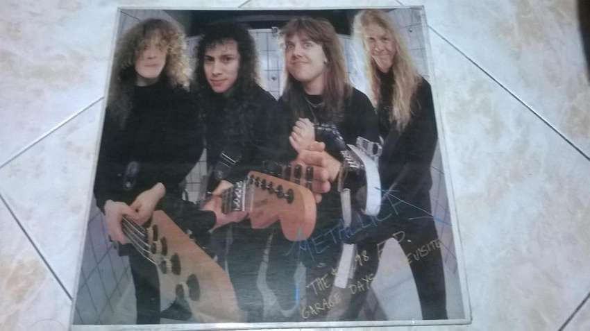 LP Metallica. Garage days rerevisited. Usado 0