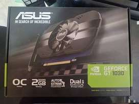 tarjeta grafica GFORCE GT 1030 DE 2GB ASUS OC DDR5