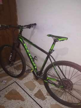 Bicicleta venzo atix, componentes gama alta