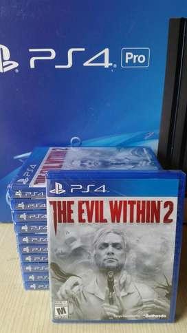 The Evil Within 2 Ps4 Nuevo Sellado Stock