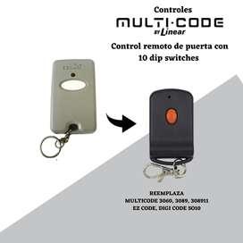 Control Multi-code para puertas
